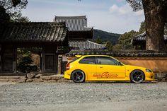 Nobuyuki Hamada's Widebody ITB'd 1999 Honda Civic Type R EK9 tuned by M&M Honda via SuperStreetOnline.com