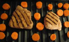 Grilled chicken & carrots