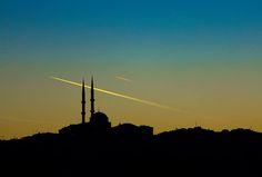 伊斯坦布爾景色的剪影看起來就是與眾不同。 ©Yılmaz Savaş Kandağ