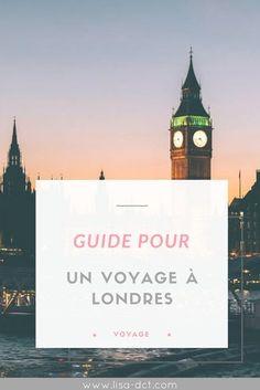 Guide pour un voyage à Londres