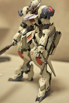 GUNDAM GUY: HG 1/144 Gundam Barbatos Lupus - Painted Build