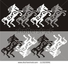 Find Ornamental Pattern Knitting Embroidery stock images in HD and millions of other royalty-free stock photos, illustrations and vectors in the Shutterstock collection. Cross Stitch Borders, Cross Stitch Animals, Cross Stitch Patterns, Knitting Charts, Knitting Stitches, Knitting Patterns, Seed Bead Patterns, Beading Patterns, Graph Design