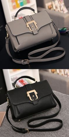 - Elegant cool casual handbag for the modern woman - Great for any occasion - Classy clasp buckle for style and security - Enough interior room to hold all your valuables - Interior pockets to organiz