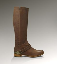 UGG® Channing for Women | Rich Leather Boots at UGGAustralia.com ($100-200) - Svpply