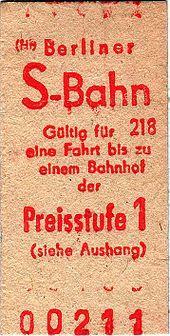 S-Bahn Berlin – (West)