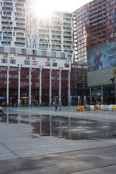 Schouwburgplein fontains Rotterdam Centre #Rotterdam #010 #Holland #Netherlands #City #Centre #Centrum #Stad #Citylife #Urban #Architecture #Building #Buildings #Stadsleven #Nederland #Dutch #Roffa