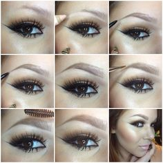 Eyebrow : tutorial : brows : make up Kiss Makeup, Eyebrow Makeup, Love Makeup, Makeup Tips, Eyebrow Wax, Makeup Eyebrows, Makeup Ideas, False Eyebrows, Light Eyebrows