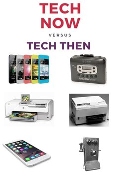 c59b1662271 Tech Now VS. Tech Then by IDGTechNow!