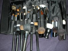 MAC Brushes for Application of Makeup