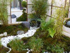 patio interior de estilo japonés