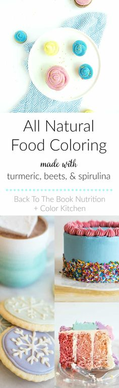 Finally, all natural food coloring made from plants for frosting your cakes, cupcakes, and cookies! Dye-free, gluten free, non-GMO and super easy to use!