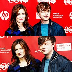 "Dane DeHaan and Anna Wood at the ""Life After Beth"" premiere during 2014 Sundance Film Festival"