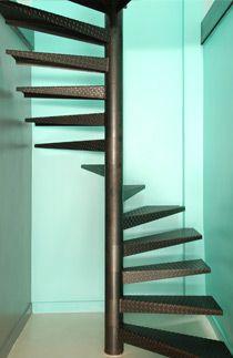 escalier en colima on carr marche m tallique dh57. Black Bedroom Furniture Sets. Home Design Ideas