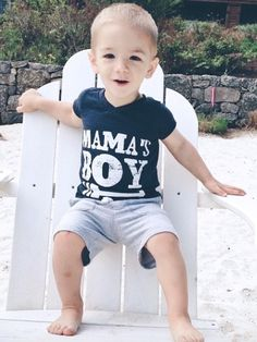 There's no better way for him to show his love for his mama! Might as well take it all while you can! Perfect for your little mama's boy. Super soft poly-cotton tees, with a slimmer fit! © Enjoy Essen