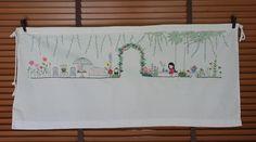 Hanatist  : Beloved flower stories by wontist #Embroidery #Flower #Art #Nature #DIY https://www.facebook.com/Hanatist/