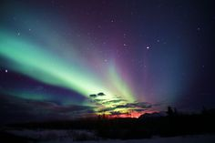 If I had a bucket list, seeing the Aurora Borealis would definitely be on it.