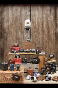 My beloved vintage camera collection <3