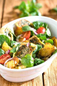 stuttgartcooking: Lauwarmer Maultaschen-Salat