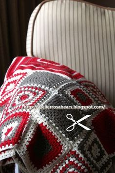 Maries Cozy Corner: Introducing Marja along with a Circle Granny Square pattern