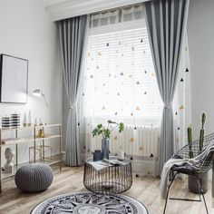 Geometric Curtain for Living Room Tulle Fabrics Rustic Thick Solid Curtains for Window Bedroom European Shade Blinds Price history. Category: Home & Garden. Subcategory: Home Textile. Curtains Childrens Room, Girls Room Curtains, Living Room Decor Curtains, Voile Curtains, Modern Bedroom Decor, Custom Curtains, Living Room Modern, Living Room Bedroom, Curtains For Home