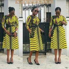 Charming and Lovely Ankara Short Gown Styles 2019 - Naija's Daily Latest Ankara Dresses, Ankara Short Gown Styles, Short Gowns, Latest African Fashion Dresses, Ankara Fashion, Women's Fashion, African Dresses For Kids, African Print Dresses, African Print Fashion