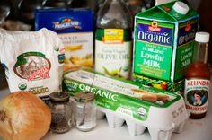 Egg Onion Rings Recipe