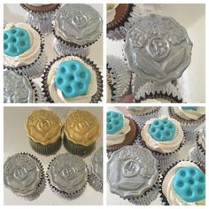 Iraqi old coins cupcakes!