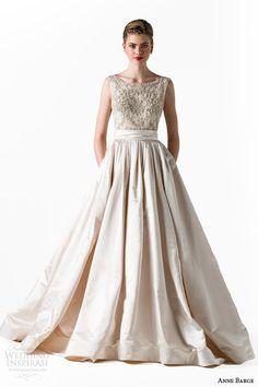 Anne Barge Spring 2015 Wedding Dresses   Wedding Inspirasi