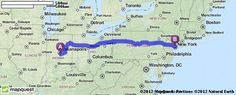Driving Directions from 25495 State Road 19, Arcadia, Indiana 46030 to Long Island City, New York | MapQuest