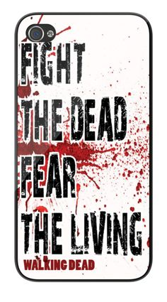 The Walking Dead iPhone Case. Available for iPhone 4/4s & 5.