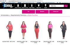 LookBook Bina Modas - Modelo Plus Size