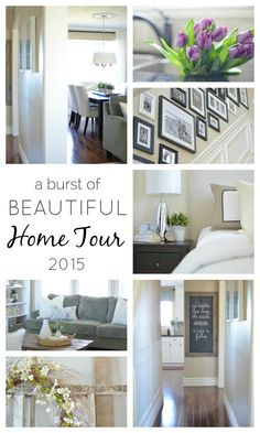 A Burst of Beautiful: Our Home Tour