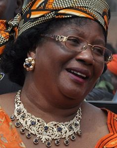 Joyce Hilda Ntila Banda is the first female president of Malawi and the whole of South Africa.