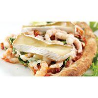 Pizza aux crevettes au Marquis de Témiscouata #IGA #Recettes #Pizza