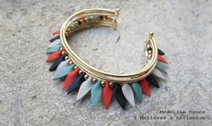 Médecine Douce bracelet (Matières à Reflexion)