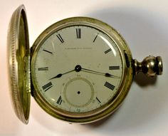 E Howard and co Series 3 pocket watch 1858  1860 18 size LOW SERIAL # #EHoward