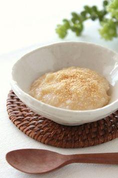 離乳食❤初期*きな粉のおかゆ*