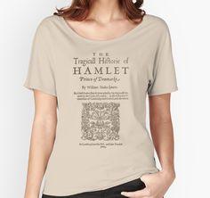 Shakespeare, Hamlet 1603 by bibliotee