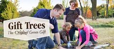 With Gift Trees, you can give hardy trees to your family, friends, customers, guests, or employees. You can even customize your label.