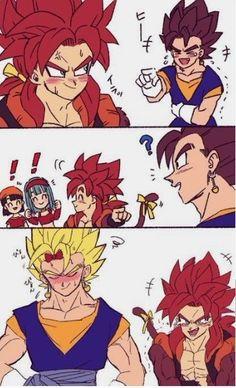 Dragon Ball Z, Dragon Ball Image, Gogeta And Vegito, Dbz Memes, Dragon Images, Cute Dragons, Otaku Anime, Anime Art, Manga Girl