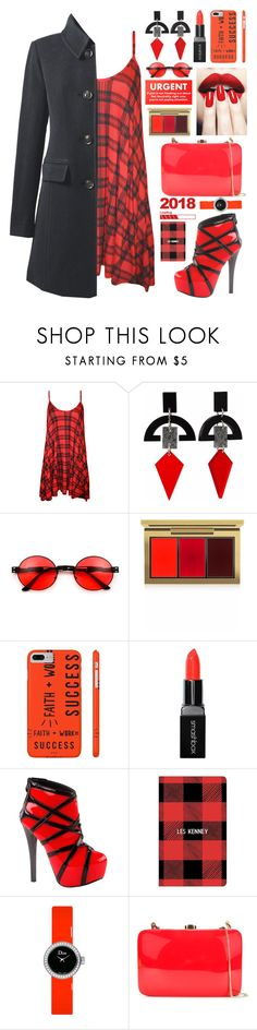 """""""Untitled #2926"""" by shoaleh-nia ❤ liked on Polyvore featuring WearAll, Toolally, MAC Cosmetics, Smashbox, Paper Source, Christian Dior, Rocio and Lands' End"""