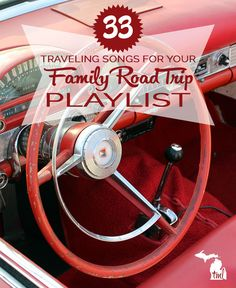 33 songs from different eras and decades for your family road trip playlist. Johnny Cash, The Beach Boys, Ray Charles and other famous musicians will have your kids singing along to classics in the backseat. Road Trip Songs, Road Trip Music, Road Trip Playlist, Road Trip With Kids, Family Road Trips, Family Travel, Songs To Sing, Kids Songs, Music Songs