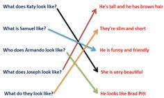 "1.8 - Preguntas de Personalidad / Apariencia ""Be like"" & ""Look like"" - iGeek"