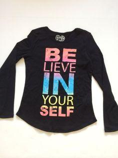 Belle Du Jour Girls Shirt Size L