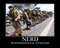 There is always a nerd