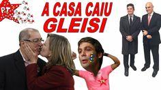 Marido Preso, Advogado Preso, A CASA CAIU GLEISI ! Frota ESCULACHA Lindb...