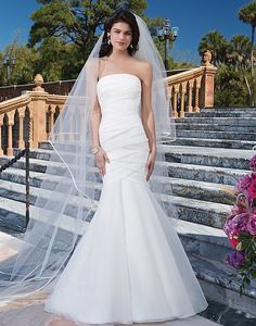 920858880e New Arrival Strapless Organza Wedding Dresses Mermaid Flores Para Noivas  Pleat Bridal Gowns Floor Length Organza In Stock NW3102-in Wedding Dresses  from ...