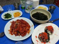 닭발&주먹밥