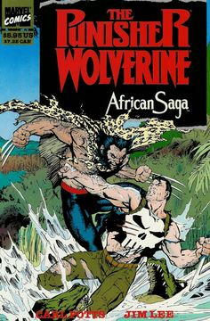 The Punisher/Wolverine African Saga by Jim Lee