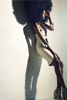 Boom!!! Blooming Afro!somalibeauty:    Ubah by Catherine Westergaard with fashion editor Mia Tucker Williams